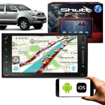 Central Multimídia Toyota Hilux 2005 a 2011 Android 7 Pol Touch BT GPS Espelhamento Via WiFi Shutt