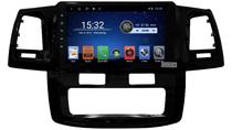 Central Multimidia Toyota Hilux Black   S700 Android 8.1 Tela 9 Ar Digital Ano 2012 - Hetzer