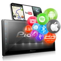 "Central Multimídia TV Pioneer 2 Din DMH-Z5380TV 6.8"" Bluetooth Espelhamento Android Iphone Spotify -"