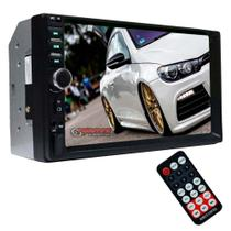 Central Multimídia Universal 2din MP5 com Bluetooth First Option 7810H -