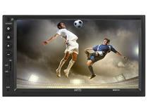 "Central Multimídia Universal AR70 MM930 Bluetooth - Tela LED 7"" Touch Reproduz Vídeo em HD TV Digital"