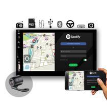 Central Multimídia Universal MP5 2 DIN Voolt - Espelhamento, USB, SD, Bluetooth, Rádio -