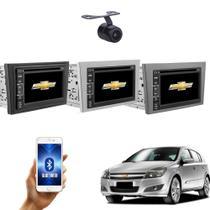 Central Multimidia  Vectra  2006 07 08 09 10 11 Com controle de Volante  + Moldura TV GPS USB BT Espelhamento Câmera - X3automotive