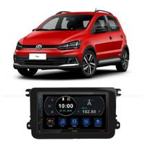 Central Multimídia Volkswagen Fox 2019 a 2020 7 Polegadas Espelhamento Android iOS BT USB SD FM - Premium