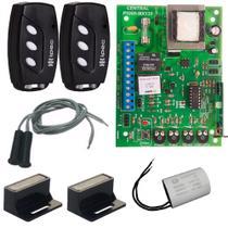 Central Placa de Comando P1000 Ipec Motor Deslizante Compativel Mx30 Kx30 Controles Capacitor de Partida 12UF Sensores -