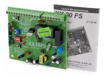 Central Placa De Comando Para Portão Eletrônico Basculante Deslizante Rossi Kx30fs -