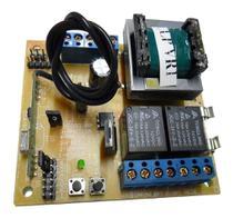 Central Placa de Comando Portão Automatico Eletrônico Motor Rcg Cca-10 Clp -