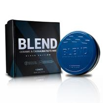 Cera Automotiva Blend Black Vonixx Com Aplicador Carnaúba e Cerâmica Hidrorrepelência SiO2 100ml -