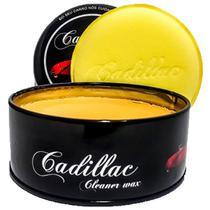 Cera Cadillac Cleaner Wax Carnaúba 300g Brilho Molhado -