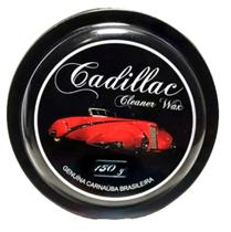 Cera Cadillac De Carnaúba Cleaner Wax Com Aplicador 150g -