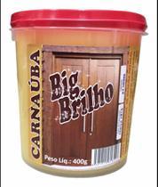 Cera de Carnaúba Amarela 400g - Big Brilho - Globo