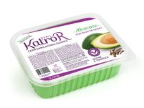 Cera Depilatória Elástica Depil Katro R Abacate - caixa com 12 unidades de 1litro - Katro R Cosméticos