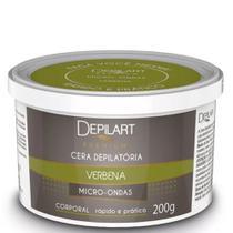 Cera Depilatória Microondas Premium Verbena - 200g - Depilart