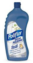 Cera líquida Brilho Máximo 750ml incolor Poliflor - Reckitt Benckiser