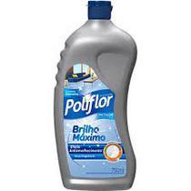 Cera Líquida Brilho Máximo Incolor 750ml Poliflor -