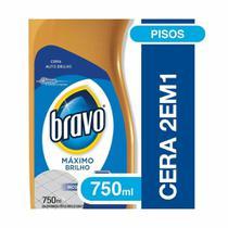 Cera Liquida Flash 750ml Incolor 1 UN Bravo -