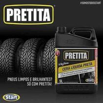 Cera Liquida Preta 2l Start Pretita - Loja Cleanup