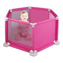 Cercadinho para Bebê Com Tapete de E.V.A Rosa  Braskit -