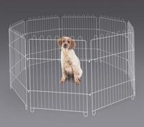 Cercado Para Cachorro Pets Cães Pequenos Animais Mini Cercado Canil Para Cães Portátil Sem Porta 12 Peças - C.A