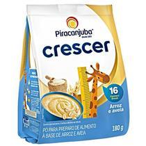 Cereal aveia arroz crescer  180gr pouch piracanjuba -