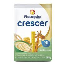 Cereal Infantil Piracanjuba Crescer Multicereais 180g Pouch -