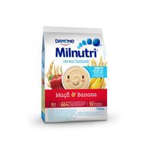 Cereal Milnutri Zero Adição Açúcar Banana e Maçã -