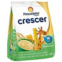 Cereal multicereais crescer 180gr pouch piracanjuba -