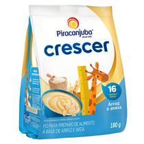Cereal Piracanjuba Crescer Arroz e Aveia 180g -
