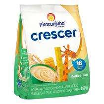 Cereal Piracanjuba Crescer Multicereais 180g -