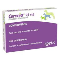 Cerenia 24 Mg - Zoetis Anti Enjoo Para Cães C/4 Comprimidos -