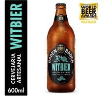 Cerveja Artesanal Witbier Baden Baden 600ml. -