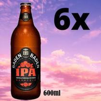 Cerveja Baden Baden American Ipa Maracujá 6x Garrafas 600ml. -
