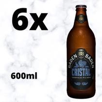 Cerveja Baden Baden Cristal American Lager 6x Garrafas 600m. -