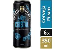 Cerveja Baden Baden Cristal Pilsen Lager - 6 Unidades 350ml, -