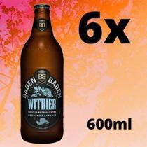 Cerveja Baden Baden Witbier De Trigo 6x Unidades 600ml. -