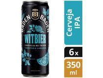 Cerveja Baden Baden Witbier Lata 350ml. -