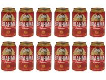 Cerveja Brahma Chopp Lager Pilsen 12 Unidades - 350ml