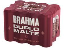 Cerveja Brahma Duplo Malte 350ml - 12 Unidades -