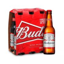 Cerveja Budweiser Garrafa LONG NECK 330ml Cx. C/06 Unidades -