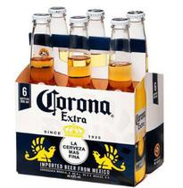 Cerveja Corona Extra Long Neck 330ml - PACK 6 Unidades -