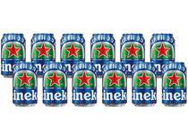 Cerveja Heineken 0.0 Pilsen Lager sem Álcool - 12 Unidades 350ml
