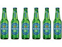 Cerveja Heineken 0.0 Pilsen Lager sem Álcool - 6 Unidades 330ml