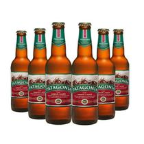 Cerveja Patagonia Amber Lager 355ml Caixa (6 Unidades)