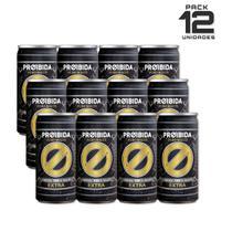 Cerveja Pilsen Proibida Puro Malte Extra  269ml - 12 Latas -
