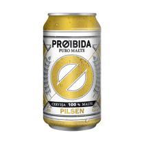 Cerveja Proibida Puro Malte Pilsen - 350ml -
