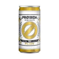 Cerveja Proibida Puro Malte Pilsen - Lata 269ml -