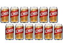 Cerveja Schin Pilsen 12 Unidades - 350ml