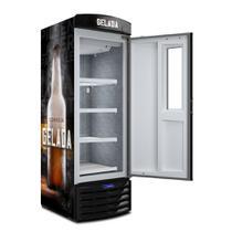 Cervejeira com Visor Expositor 572 litros Preto  Metalfrio -