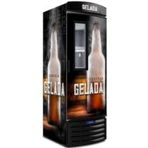 Cervejeira Metalfrio Visa Cooler Porta com Visor 497 Litros VN50F New Cerveja Gelada 127V -