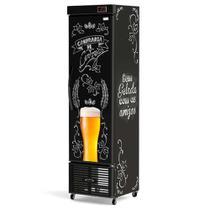 Cervejeira Refrigerada Slim Vertical Lousa Bar CRV-250/B Conservex -